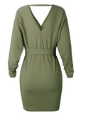 BRING IT BACK SWEATER DRESS - B ANN'S BOUTIQUE