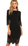BABE IN BLACK DRESS - B ANN'S BOUTIQUE