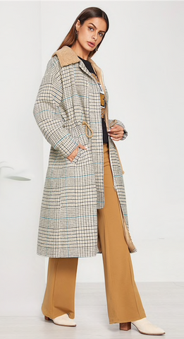 TALLIE'S TRENCH COAT - B ANN'S BOUTIQUE