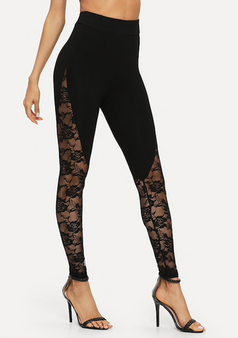 MIDNIGHT FLOWERS LEGGINGS