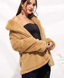 TEDDY CHIC JACKET - B ANN'S BOUTIQUE