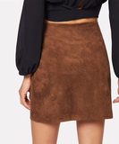 BELLA BUTTON-UP SKIRT - B ANN'S BOUTIQUE