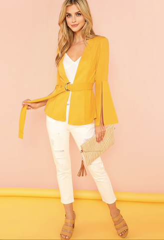 MS SUNSHINE BLAZER