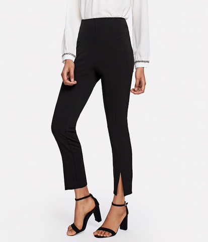 BACK TO BLACK ANKLE PANTS - B ANN'S BOUTIQUE