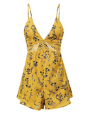 SUNNY SKIES FLORAL ROMPER - B ANN'S BOUTIQUE