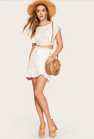 LYRIC LACE SKIRT SET