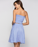 STRIPES AWAY SKIRT SET