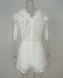 LACE LOVELY ROMPER - B ANN'S BOUTIQUE