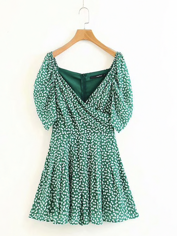THE GREEN IVY ROMPER - B ANN'S BOUTIQUE