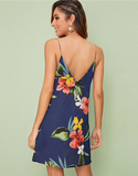 NAVY NICE CAMI DRESS - B ANN'S BOUTIQUE