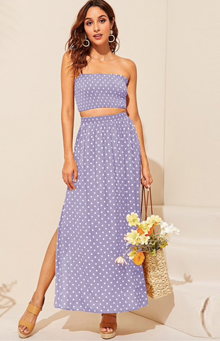 POLKA DOT PARTY OF TWO - B ANN'S BOUTIQUE