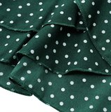 PIPER'S POLKA DOT WRAP MINI DRESS - B ANN'S BOUTIQUE