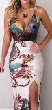 PERFECT AS A PEACOCK DRESS - B ANN'S BOUTIQUE