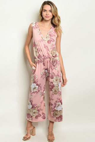 THE PINK POSH JUMPSUIT - B ANN'S BOUTIQUE