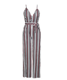 STRIPES ARE RIGHT JUMPSUIT