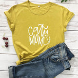 CAT MOMMA TEE - B ANN'S BOUTIQUE
