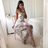 TEA TIME FLORAL DRESS