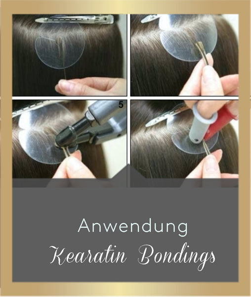 keratin bondings application