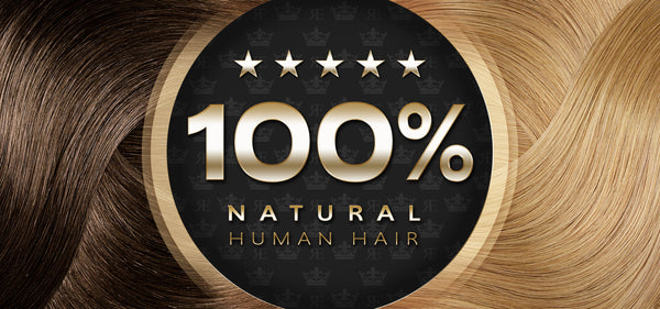 100% pure human hair extensions