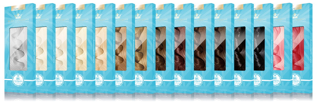 Pro Deluxe Tape-in Extensions Collection