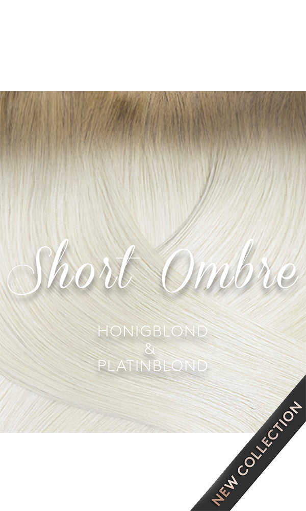ROOTS CLIP-IN FASHION LINE Honigblond & Platinblond Short Roots