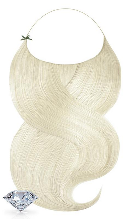 100% Remy Goldblond Flip-in Extensions Diamond Line