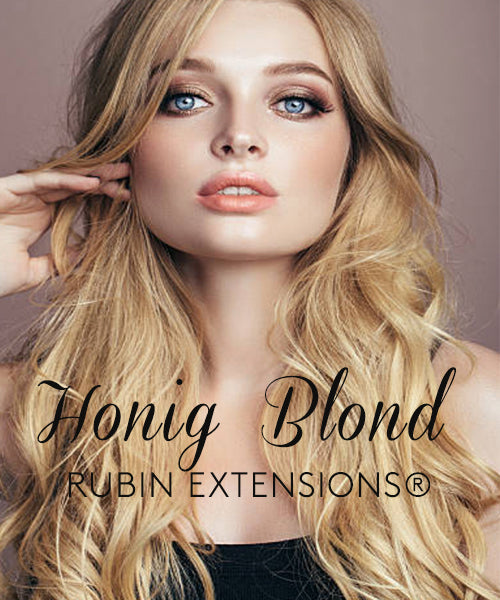 Honigblond Tape-in Extensions - Invisible Line