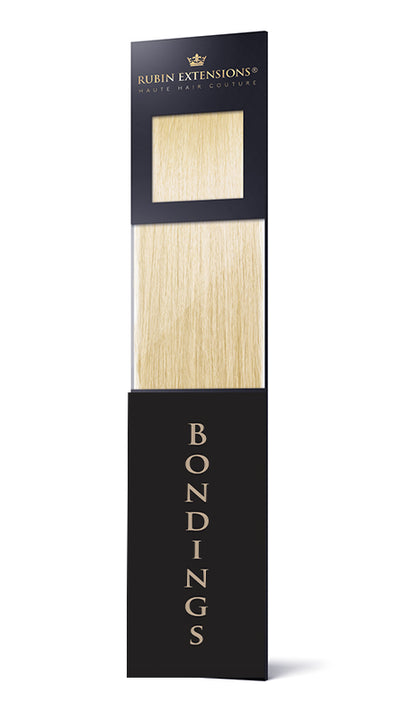 Keratin Bondings Hair Extensions Goldblond