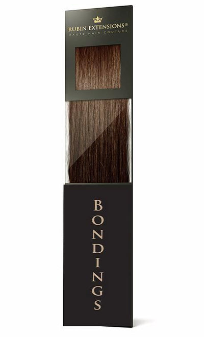 PRO DELUXE LINE Natur-Goldbraun Keratin Bonding Hair Extensions