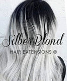 CLIP-IN EXTENSIONS  Silberblond