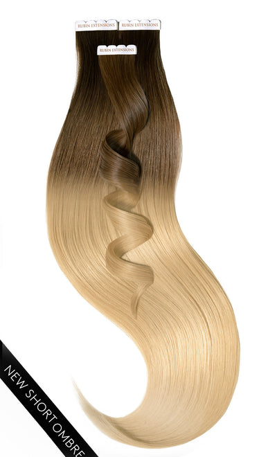 PRO DELUXE LINE SMBRÉ Natur-Goldbraun & Honigblond Tape-in Extensions