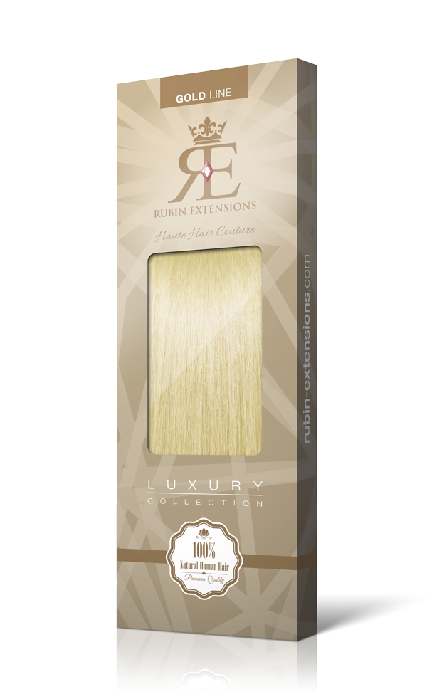 STIRNFRANSEN Goldblond