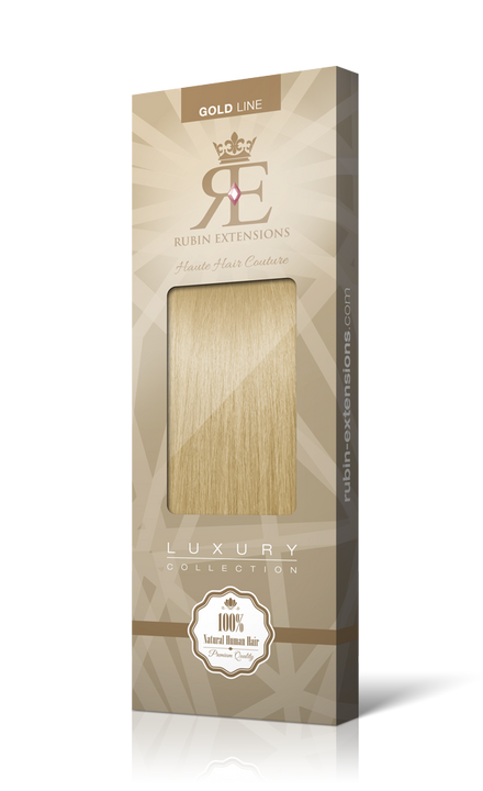 STIRNFRANSEN Honigblond Clip-in Bangs