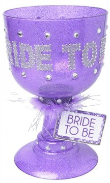 Bride to Be Pimp Cup Purple