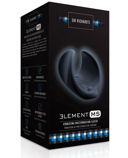 Sir Richards Elements Masturbation Sleeve - Slate