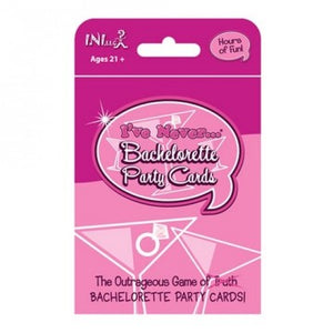 I've Never - Bachelorette Party Cards