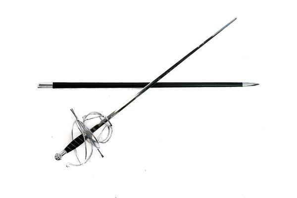 "Rapier Sword - Zorro/ Fencing Sword-47""- Stainless Steel"