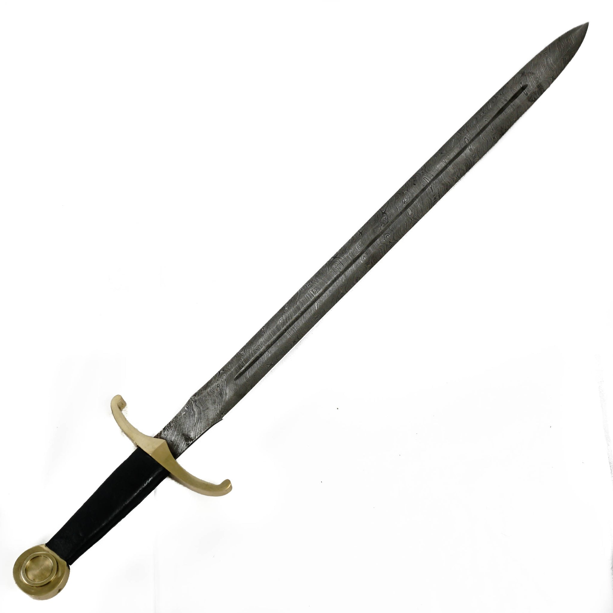 Longsword- High Carbon Damascus Steel Sword- 36""