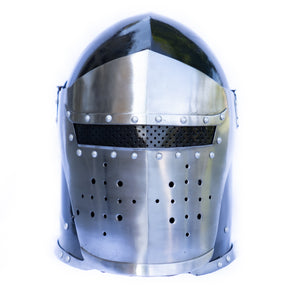 Great Helm Helmet- Crusader Helmet