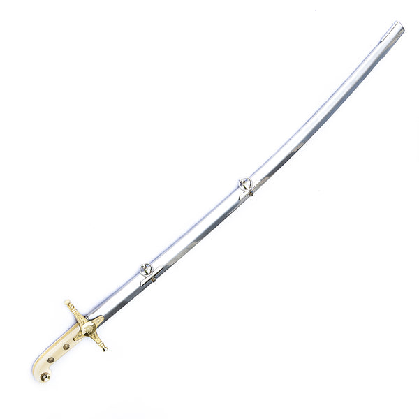 "Shamshir Sword- Tulwar Sword - Scimitar Sword - 37"" - Stainless Steel"