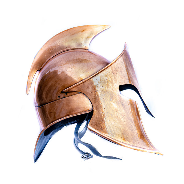 Spartan Helmet- Metal Helmet- Ancient Greek Helmet