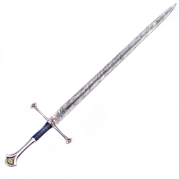 Greatsword- Two Handed Longsword - High Carbon Damascus Steel - 45""