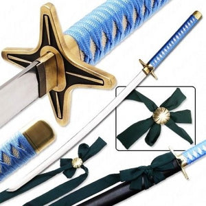 Katana Sword- High Carbon 1095 Steel Sword with Clay Temper Blade- Samurai Sword- 40.5""