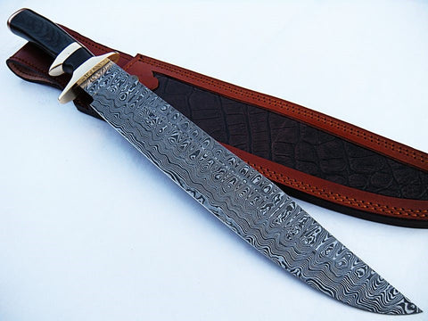 "Cutlass Sword- High Carbon Damascus Steel Sword- 26""- Saber Sword"