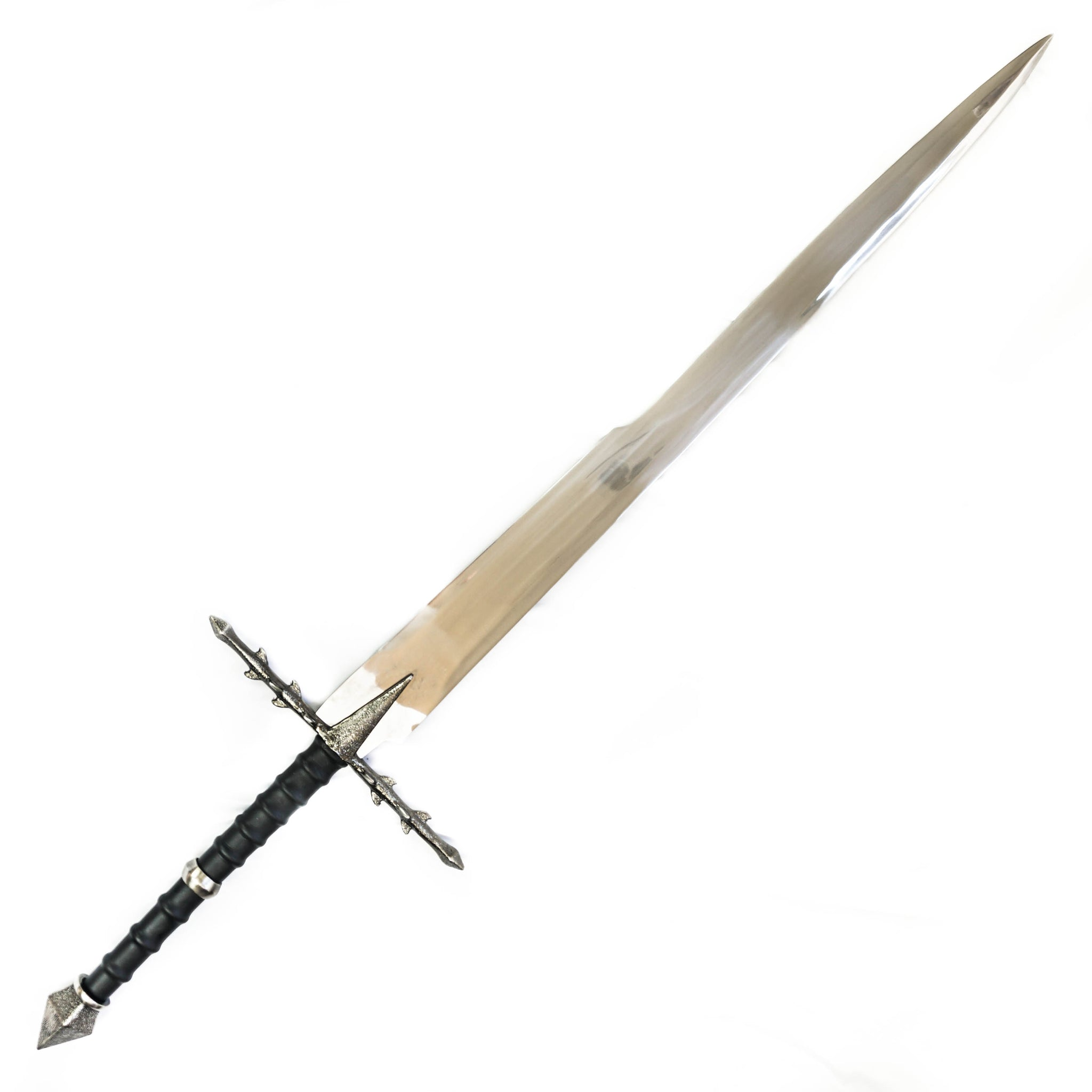 Longsword/ Bastard Sword- High Carbon 1095 Steel Sword With Clay Temper- 45""