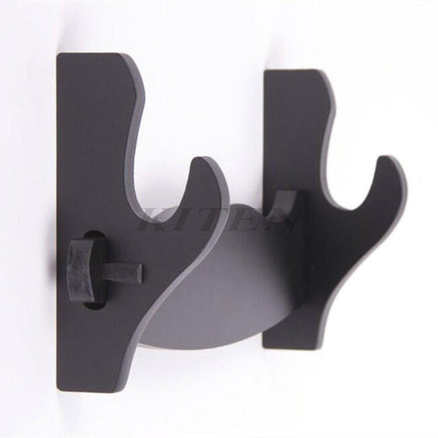 Wall Mount Sword Stand- One Layer Black