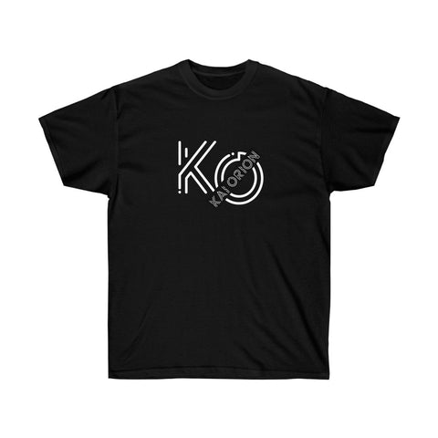 K.O. Unisex Ultra Cotton Tee Black