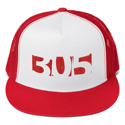 "Bless ""305"" Trucker Cap BWR"