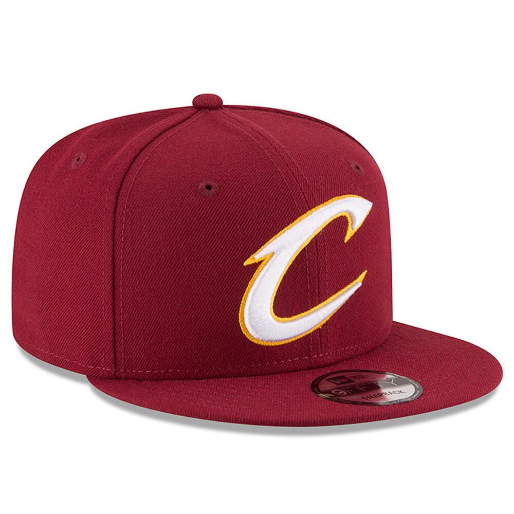 6601d6b62c5 NEW ERA NBA COLLECTION CLEVELAND CAVALIERS TEAM COLOR 9FIFTY SNAPBACK