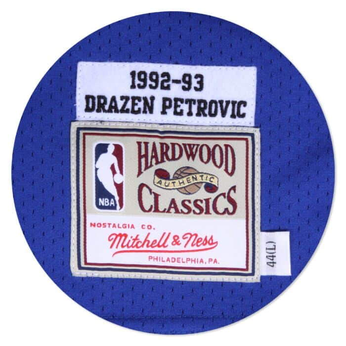 premium selection 715b0 b6066 Swingman Jersey New Jersey Nets Road 1992-93 Drazen Petrovic